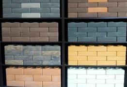 Gas silicate blocks, concrete, sand, brick, FBS